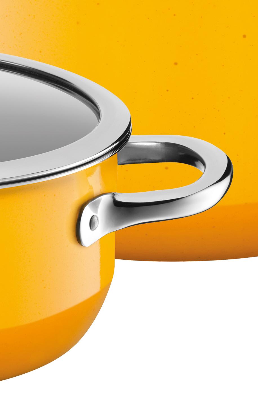 kjelesett silit passion yellow 4 deler. Black Bedroom Furniture Sets. Home Design Ideas