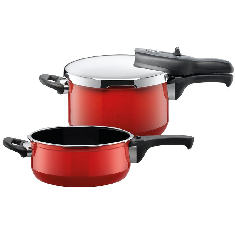 Trykkoker - Sicomatic t-plus Duo Energy Red 2 deler
