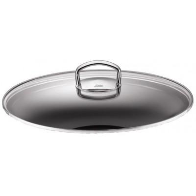 Glasslokk til wokpanner Ø32 cm med håndtak i polert stål