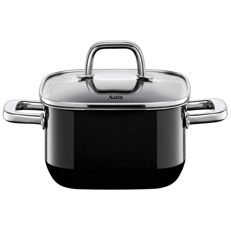 Gryte - Silit Quadro Black 16x16 cm