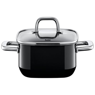 Gryte - Silit Quadro Black 16x16 cm 2.0 L