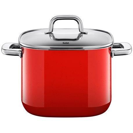 Gryte - Silit Quadro Red 22x22 cm 6.8 L