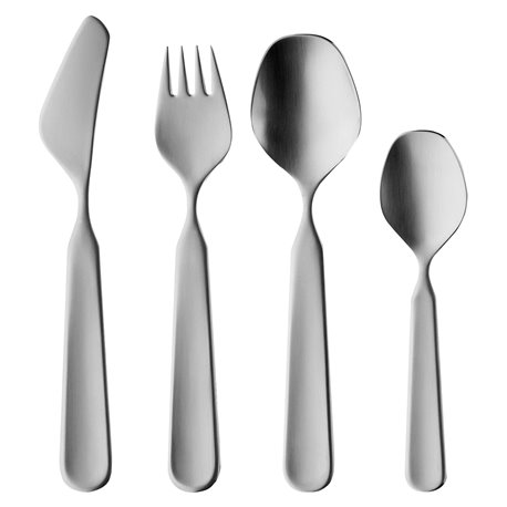Kinderbesteck 4-tlg., Children´s flatware 4 pcs., solid knife