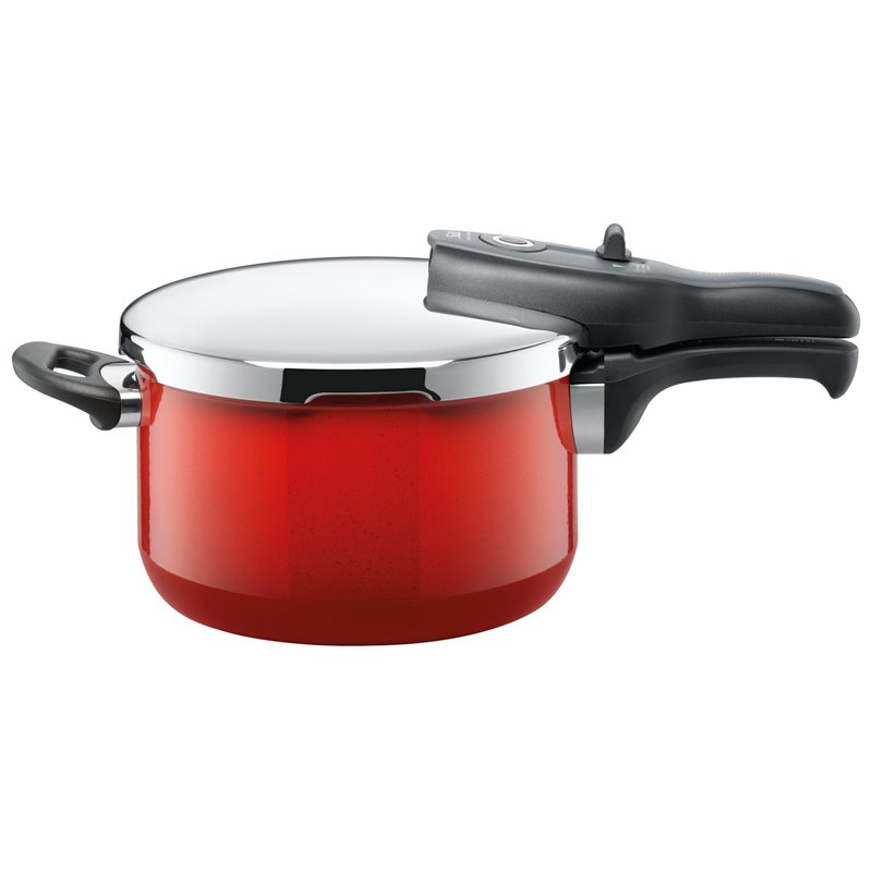 Trykkoker - Sicomatic t-plus Energy Red Ø22 cm / 4.5 L