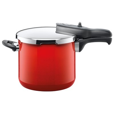 Trykkoker - Sicomatic t-plus Energy Red Ø22 cm / 6.5 L
