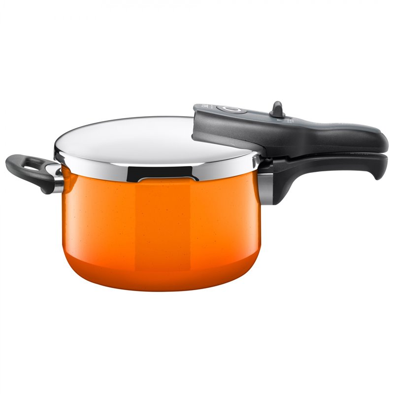 Trykkoker - Sicomatic t-plus Passion Orange Ø22 cm / 4.5 L