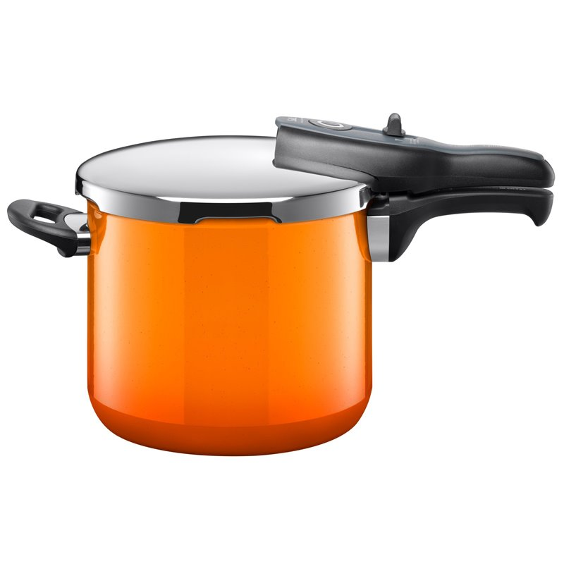 Trykkoker - Sicomatic t-plus Passion Orange Ø22 cm / 6.5 L