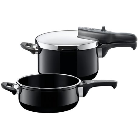 Trykkoker - Sicomatic t-plus Duo Black 2 deler