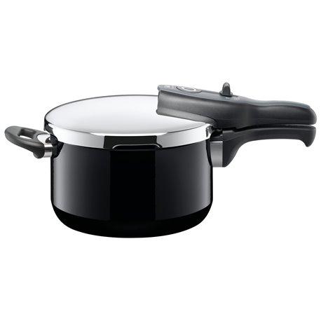 Trykkoker - Sicomatic t-plus Black Ø22 cm / 4.5 L