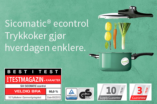 Best i test sicomatic trykkoker